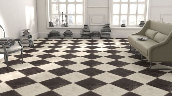 sol vinyle wood stone black white saint maclou floors pinterest noir et blanc. Black Bedroom Furniture Sets. Home Design Ideas