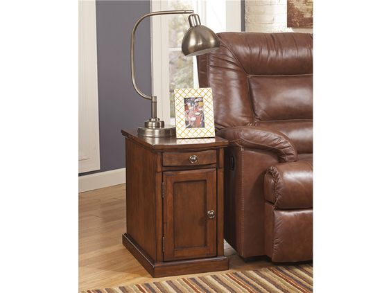 Signature Design By Ashley Living Room Chair Side End Table With
