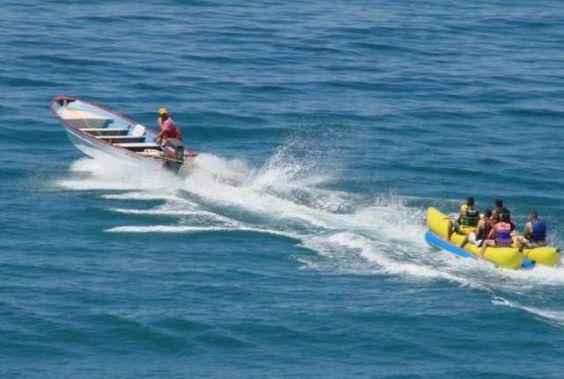 Banana boat rides!!!