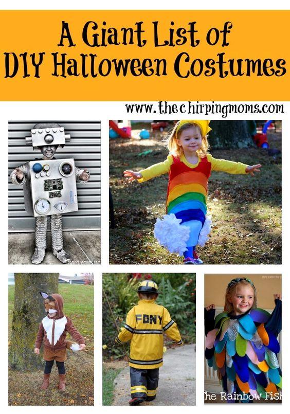 DIY Halloween Costume Ideas for Kids Mom, Costume ideas and For kids - mom halloween costume ideas