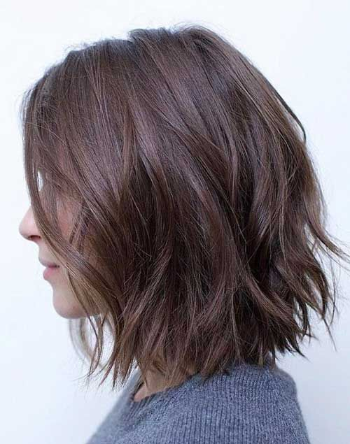 30 Latest Bob Haircut Images To Try In 2020 Page 6 Of 6 In 2020 Bob Hairstyles For Thick Wavy Bob Hairstyles Long Bob Hairstyles