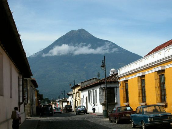 Antigua, Guatemala.  Home for three months of language school.  New friends, amazing Ama de Casa, pan dulce & cafe de Alex... left part of my heart there, for sure!