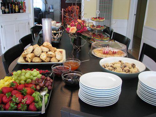 High Tea Party Food List Included