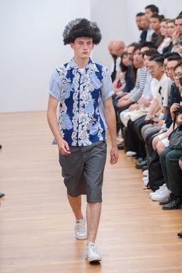 Comme des Garçons Shirt Spring 2016 Menswear Fashion Show: Complete Collection - Style.com