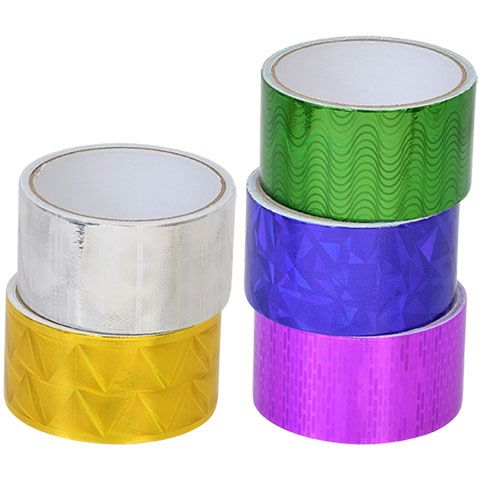 Brilliant Tool Bench Hardware Colorful Reflective Duct Tape 15 Ft Squirreltailoven Fun Painted Chair Ideas Images Squirreltailovenorg
