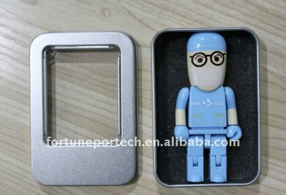 Blue Doctor/Surgeon/Physician USB 2.0 with tin box