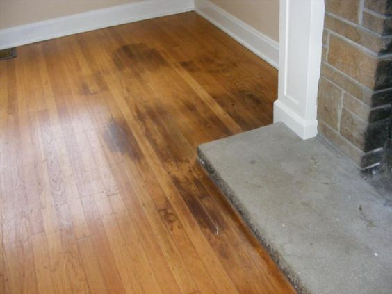 Removing Stains from a Hardwood Floor - Ask