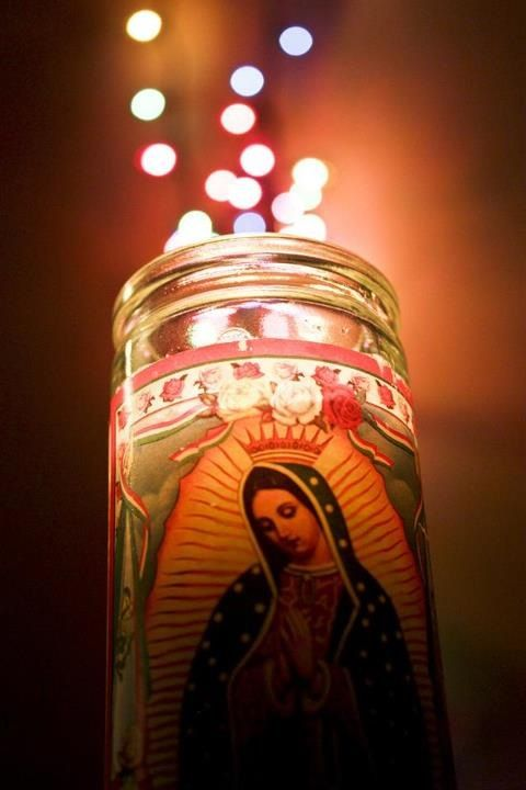 Guadalupe Candle Light | Mary | Pinterest | Beautiful, Posts and Lady