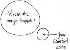 The comfort zone is the red light district of personal growth. It's all stop signs and rear view living. Its time to rezone your perspective and move into the magical space of new possibility. Life begins at the end of your comfort zone.
