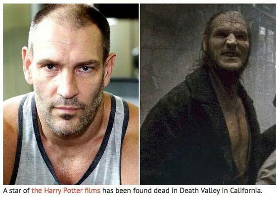 R I P Dave Legeno Harry Potter Actors Harry Potter
