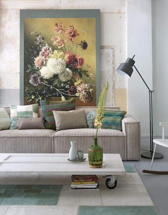 Old panel part, new coffee table | Styling Leonie Mooren | Photographer Anouk de Kleermaeker | vtwonen August 2015