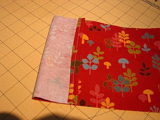 Flannel rice bags