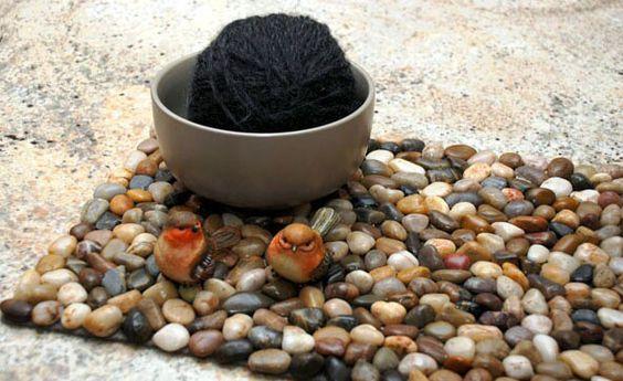 Stone alfombras hechas a mano