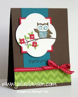 Owl Occasions Thank You Card