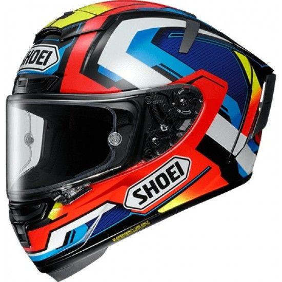 Buy Shoei X Spirit Iii Brink Tc 1 Helmet At The Cheapest Price In India Full Face Helmets Motorcycle Helmets Helmet