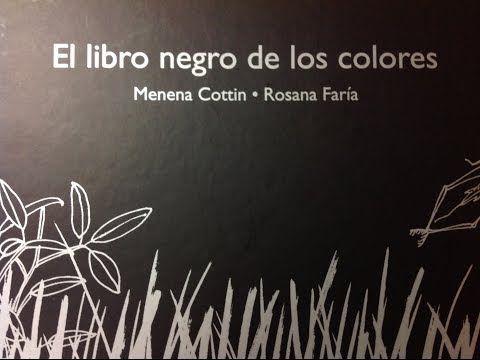 Libros chulos: El libro negro de los colores | Entre Actividades Infantiles