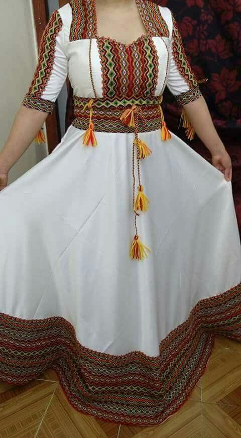 2019 Kabyle Elkhadra Moderne Robe On0P8Xwk
