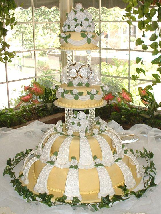 Georgia custom wedding cake