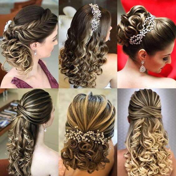 Peinados bonitos para fiesta
