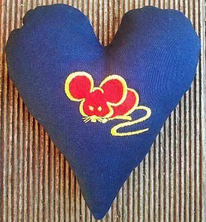 Hier mein 93. Herz: Von der mutigen kleinen Maus