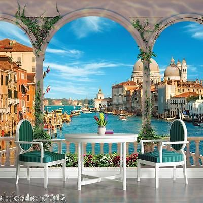 details zu poster fototapeten fototapete wandbild bild tapeten foto venedig italien 1072 p8. Black Bedroom Furniture Sets. Home Design Ideas