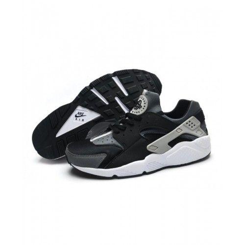 Nike Air Huarache Men Black Gray in 2020 | Nike air huarache ...
