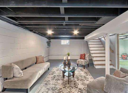 27 Best Basement Renovation Ideas For Your Home Basement Renovation Ideas Don T Let Unfinished Basements Basement Ceiling Basement Makeover Basement Design