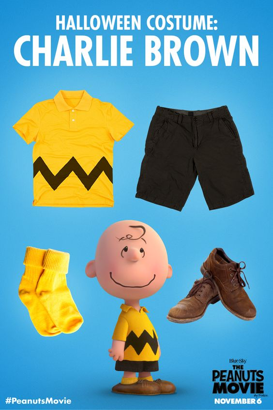 The underdog costume with the most heart! Who's dressing as Charlie Brown this year?