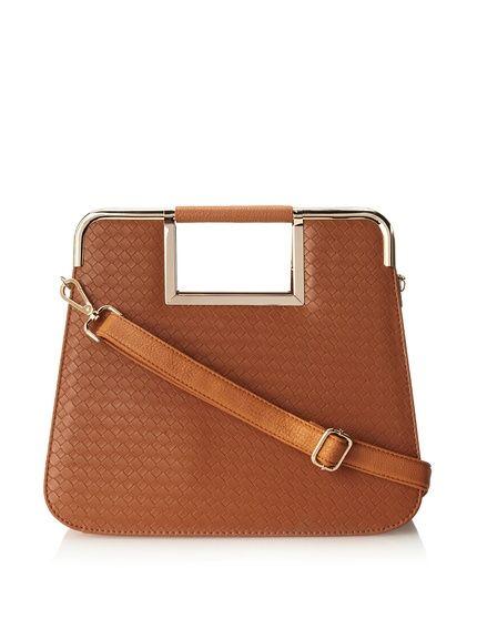 Nila Anthony Women's Multi Compartment Frame Bag, Brown, http://www.myhabit.com/redirect/ref=qd_sw_dp_pi_li?url=http%3A%2F%2Fwww.myhabit.com%2Fdp%2FB00JKFF6S2