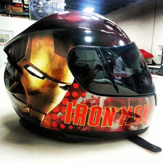 #ironman  #wrap #helmet #helmetwrap #effnawesome