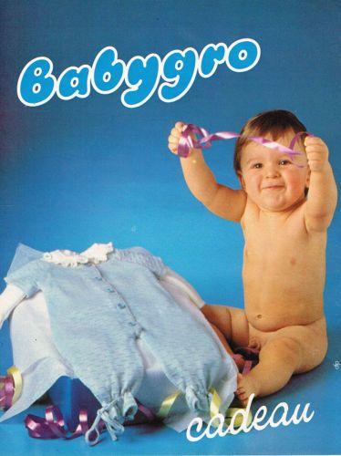 PUBLICITE-ADVERTISING-025-1979-BABYGRO-2-cadeau-layette-vetements-bebe