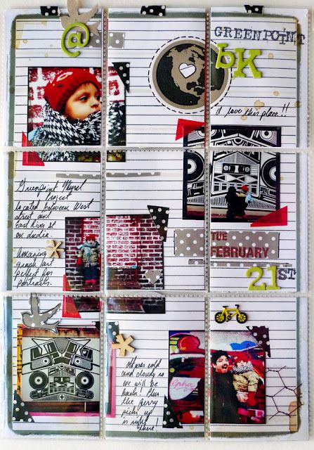 Amazing PL-layout by Michelle Hernandez of #myanaloglife
