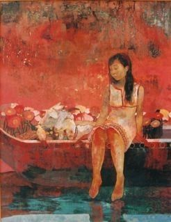 There's that red. Works 2004 - sugawaramanabu's gallery 、菅原 学ホームページ