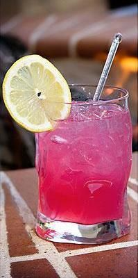 """Drink pink! Cocktail recipes for Breast Cancer Awareness Month"" This is ridiculous! Alcohol consumption increases cancer risk and many of these drinks have artificial colors which are linked to cancer. #pinkwashing"