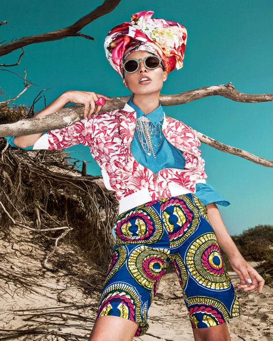"""Africa is Here"" Editorial Photo Shoot For Go Style Magazine by FashionTV"