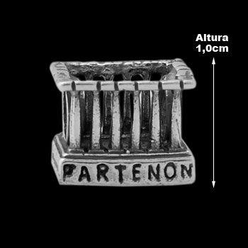 Berloque de Prata Partenon (Pulseira Memories).