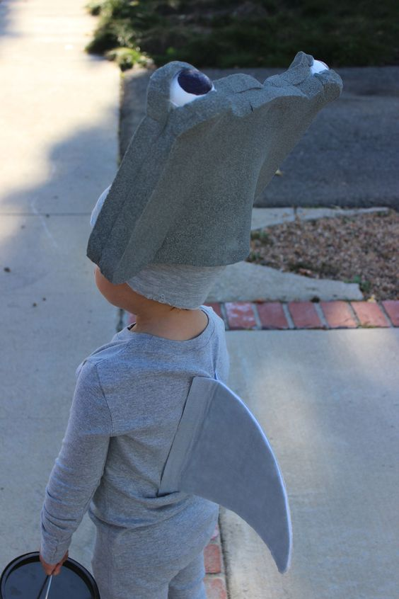 spirit halloween shark costume