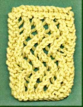 Lace, Knitting stitches and Shawl on Pinterest