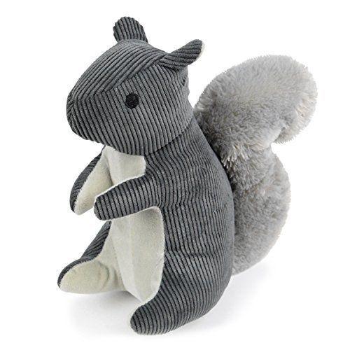 Martha Stewart Corduroy Squirrel Bonded Mesh Dog Toy For Moderate