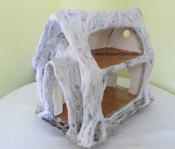 Shop Towels Paper Mache: This Tutorial Is Amazing. Her Creativity Is Unbelievable