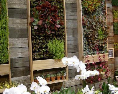 >Ide 'taman vertikal' untuk memiliki taman tanpa lahan | Arsitektur rumah tinggal dan desain interior