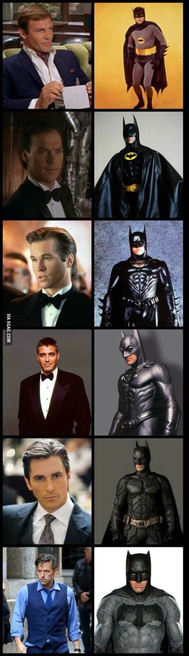 Christian Bell will always be my favorite batman!!! I can't believe they got Ben…