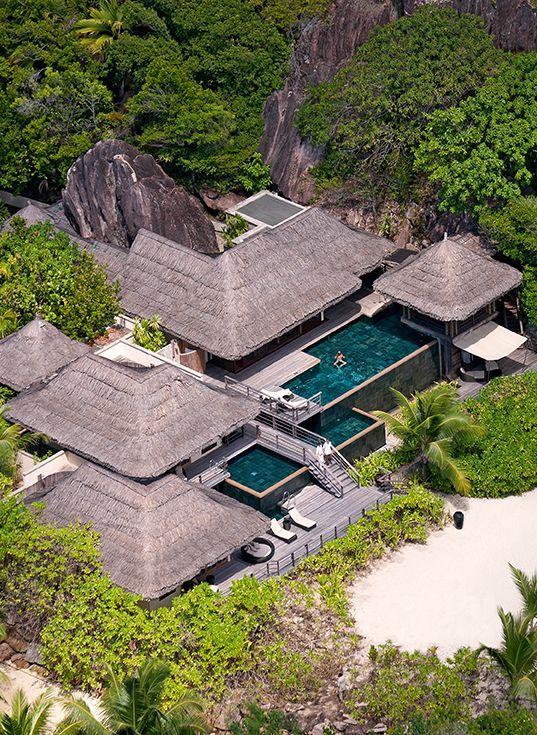 Les Villas Du Constance Lemuria Resort Aux Seychelles Resort Architecture Landscape And Urbanism Architecture Resort