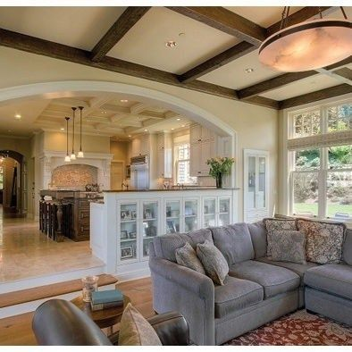 37 Awesome Small Beach House With Sunken Living Room Ideas Daily Home List Sunken Living Room Family Room Addition Traditional Family Rooms