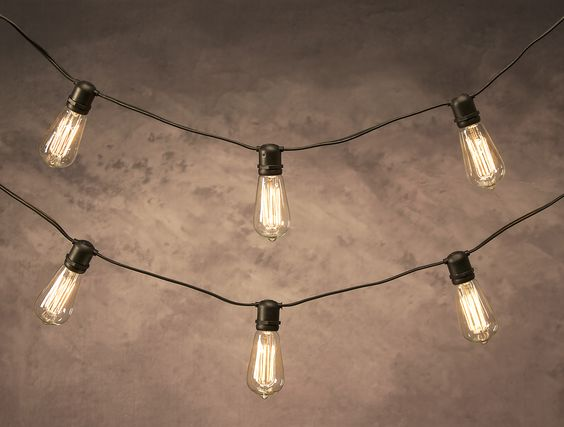 Add any unique bulb to this vintage socket cord to illuminate your indoor or outdoor space!