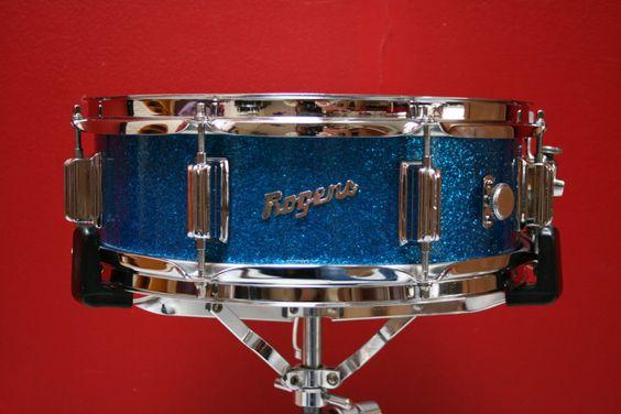 Beautiful vintage Rogers snare drum