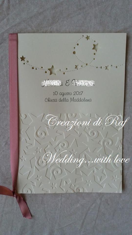 Libretto Messa Per Matrimonio A Tema Stelle E Costellazioni Matrimonio Stellato Matrimoni A Tema Pianificazione Matrimoni
