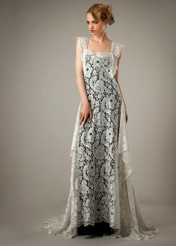 black wedding dresses 2014 | Dress To Love, Black White Inspiration For Bridal Wedding Gown 2014