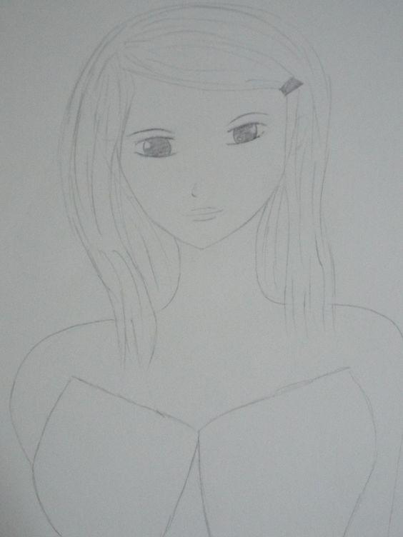anime sketch 3