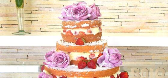 Decoracion De Tortas ~ de tortas paso a paso con merengue more naked cakes pasteles